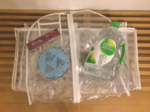 sock drying rack, wedding gown plastic cover, distilled water