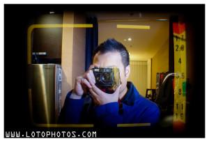Viewing through Canon QL17 GIII