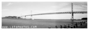 Bay Bridge and terraPin Kaiju 6x19 camera, 86mm, f/215 with Fuji Acros